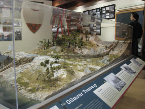 Gilmour Tramway Scale Model Exhibit