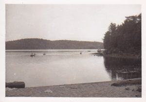 Camp Otter-lake-from-sandy-beach 2014