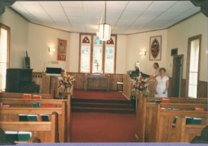 Knox United Church Inside View