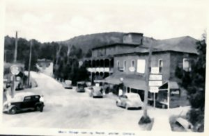 Burk and Avery Store in the foreground on the right.